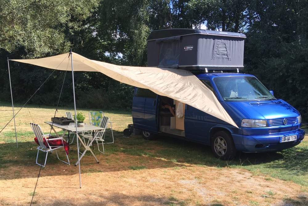 Wohnmobil mieten in Dresden von privat | Volkswagen Blaubär