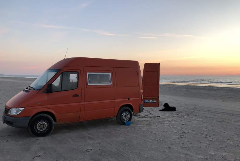 Wohnmobil mieten in Kassel von privat | Mercedes  Dog Camper