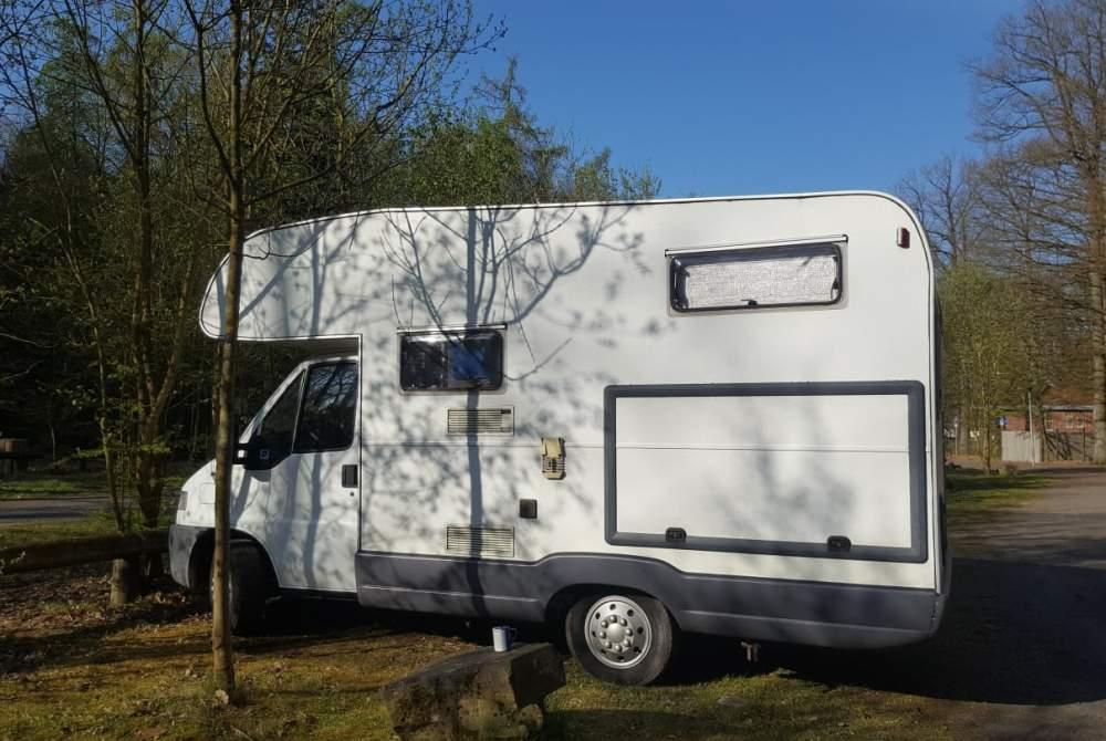Wohnmobil mieten in Wiernsheim von privat | Bürstner  Womi