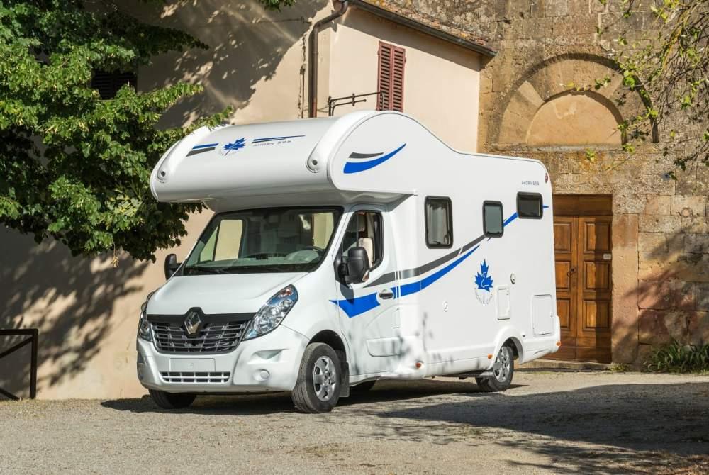 Wohnmobil mieten in Stuttgart von privat | Ahorn Schwoabacamper