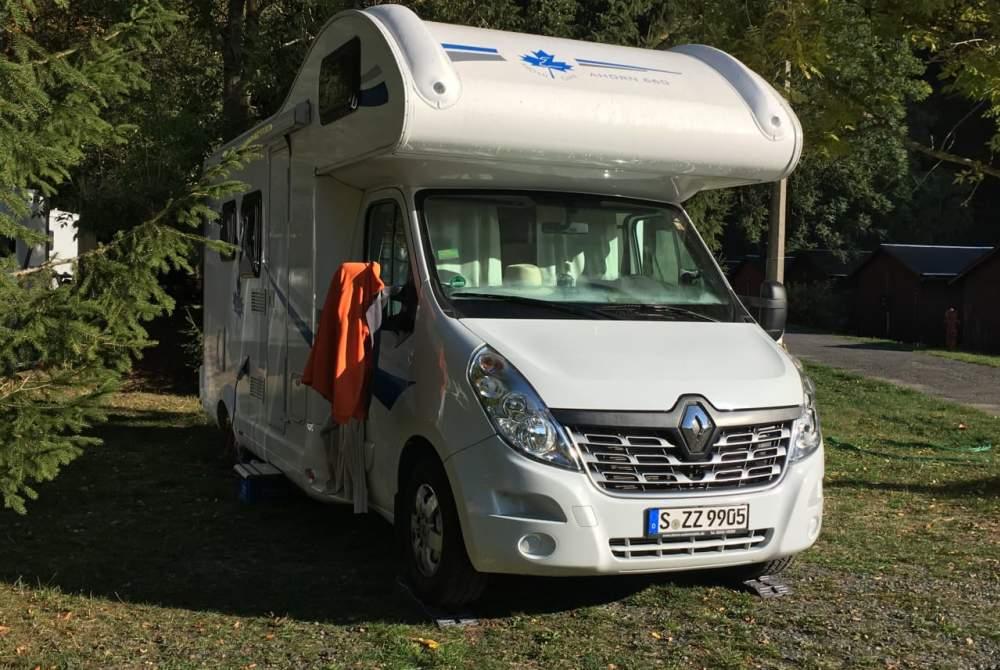 Wohnmobil mieten in Stuttgart von privat | Ahorn Familienschwoab