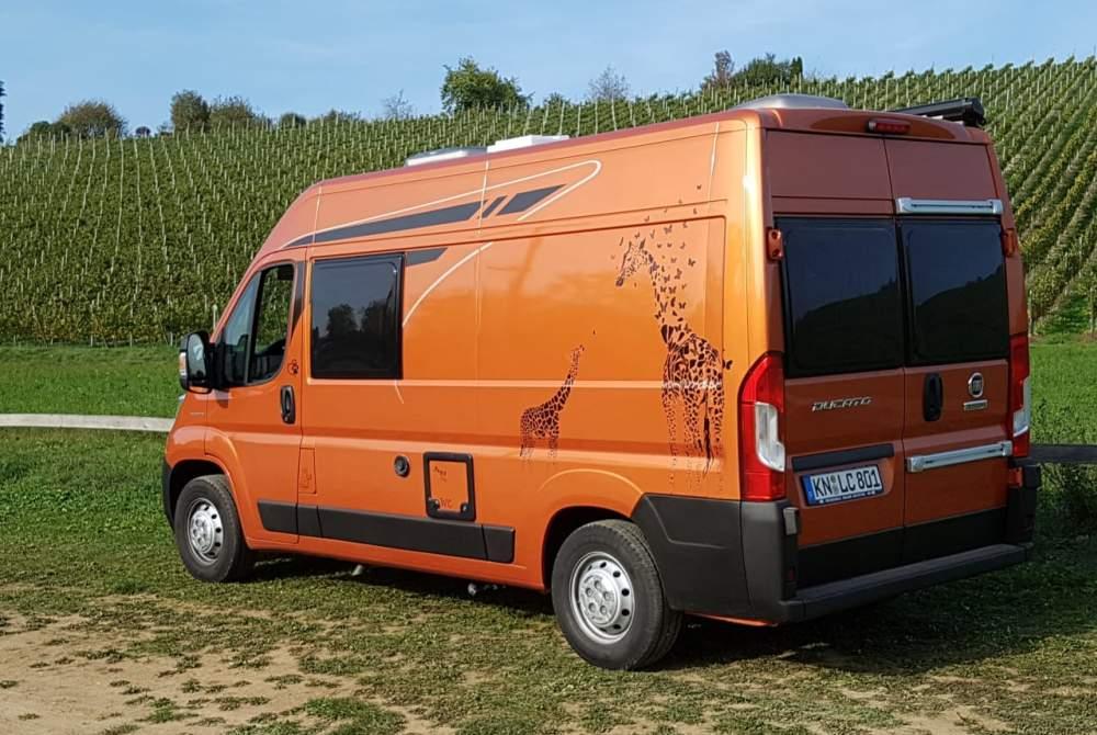 Wohnmobil mieten in Gailingen am Hochrhein von privat   Poessl Terra