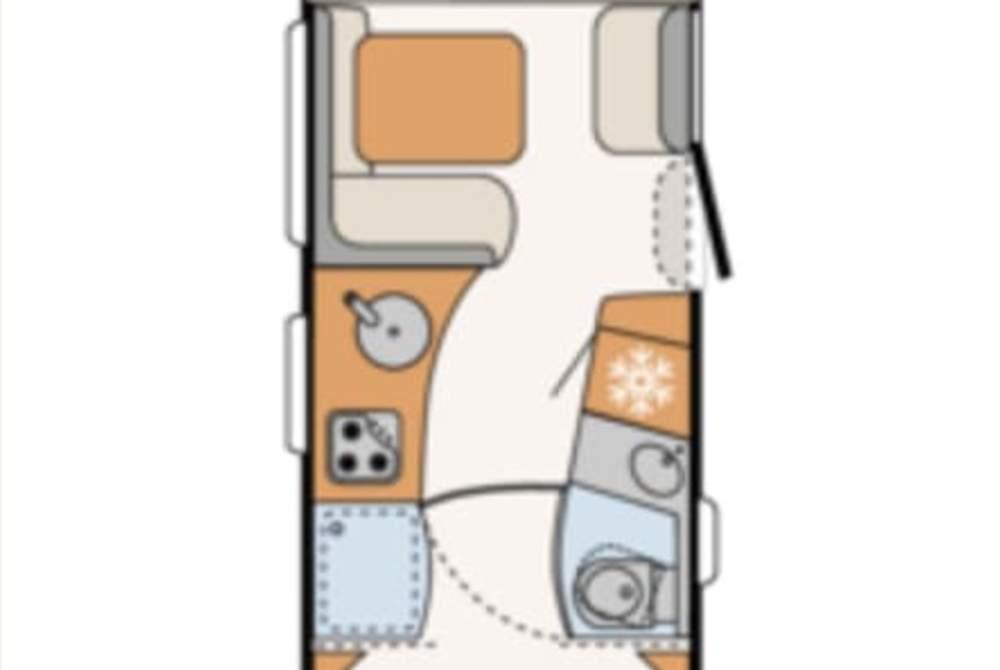 Wohnmobil mieten in Herford von privat | Dethleffs  Flotte Lotte
