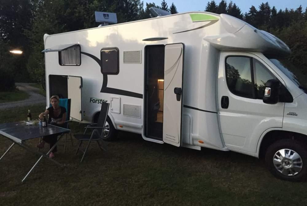 Wohnmobil mieten in Schkeuditz von privat | Forster Nala