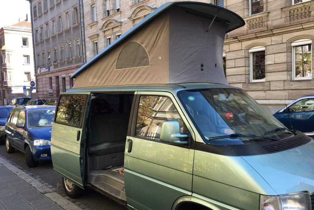 Wohnmobil mieten in Nürnberg von privat | Volkswagen Vroni