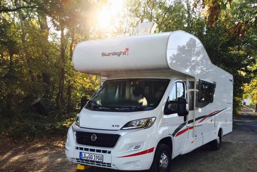 Wohnmobil mieten in Lüneburg von privat   Sunlight  GodiWomi