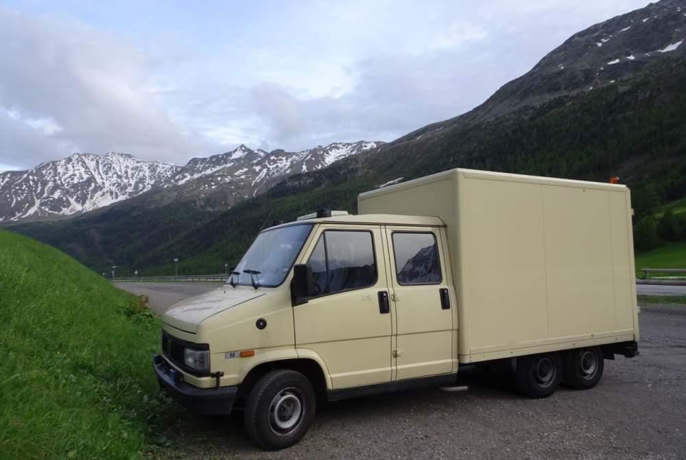 Wohnmobil mieten in Köln von privat | Fiat Ambulancia