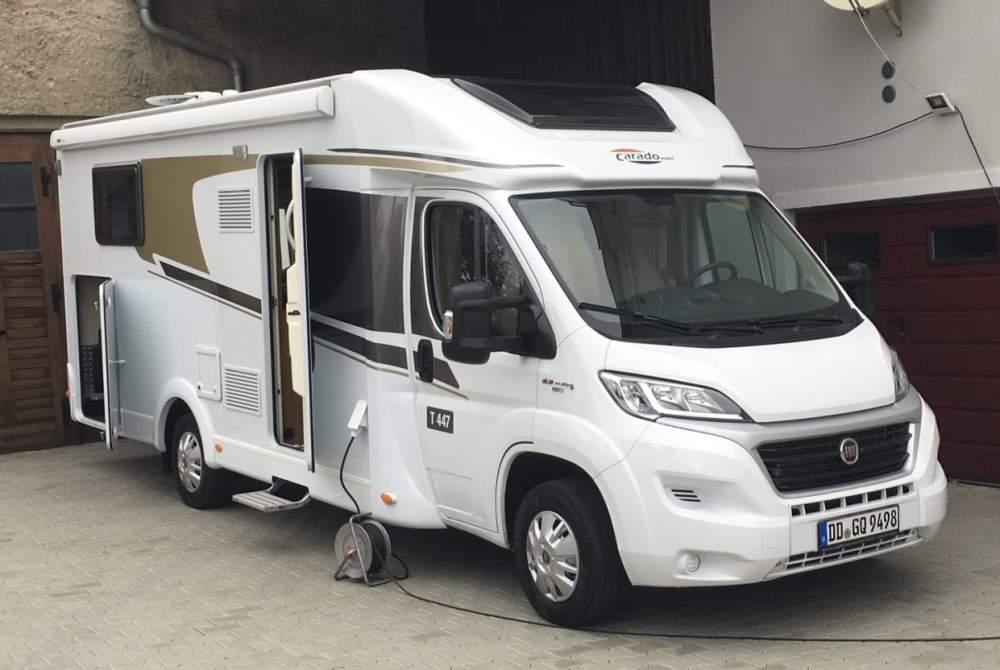 Wohnmobil mieten in Dresden von privat | Fiat Carado Basti
