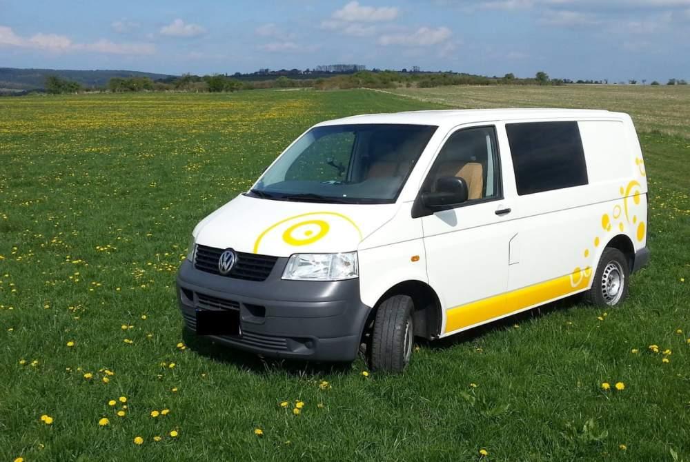 Wohnmobil mieten in Hamburg von privat   VW T5  Gelber Kringel