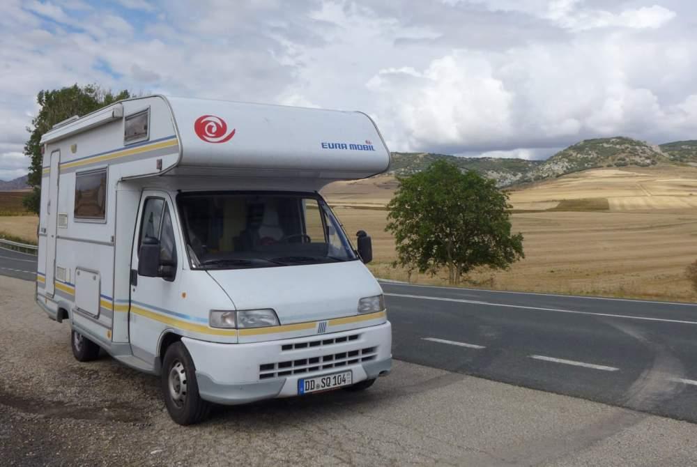 Wohnmobil mieten in Dresden von privat | Fiat Ducato Schnaggo Gonzales