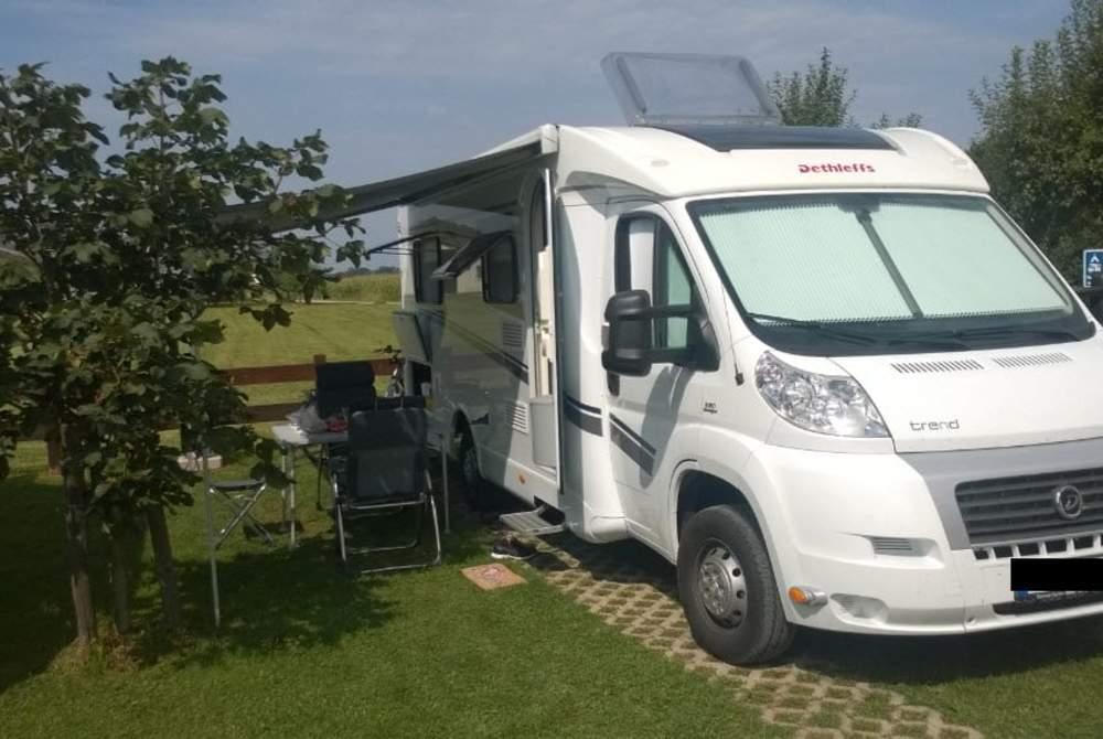 Wohnmobil mieten in Landsberg am Lech von privat | Dethleffs Trendy