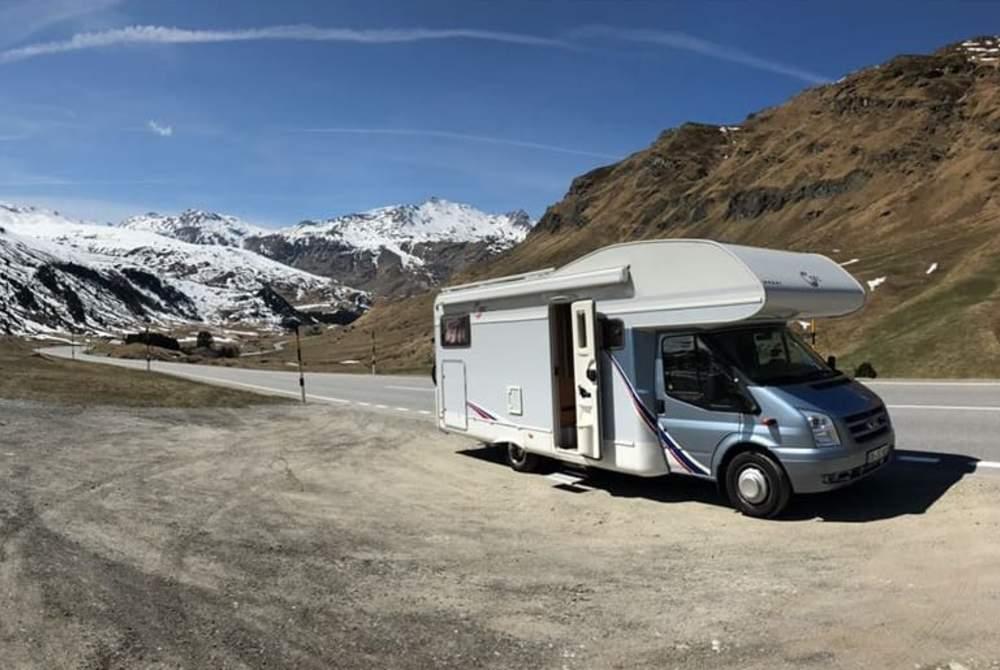 Wohnmobil mieten in Oberhausen von privat | TEC Alkoven mit Luxusausstattung