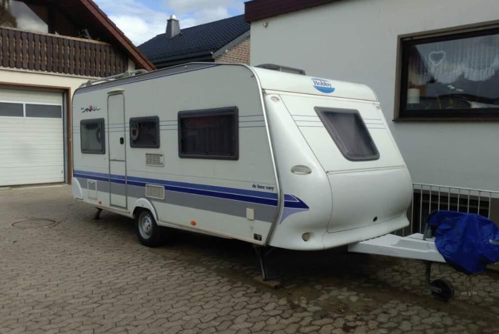 Wohnmobil mieten in Augustdorf von privat | Hobby Hobby 495 de luxe easy K542