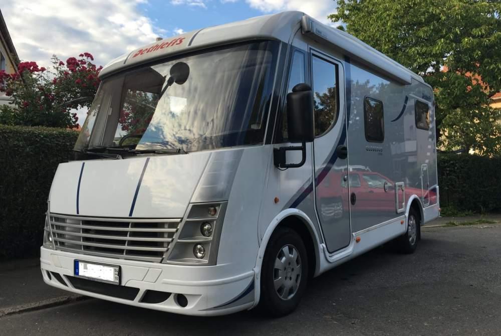 Wohnmobil mieten in Jena von privat   Dethleffs Globebus  Dethleffs Globebus