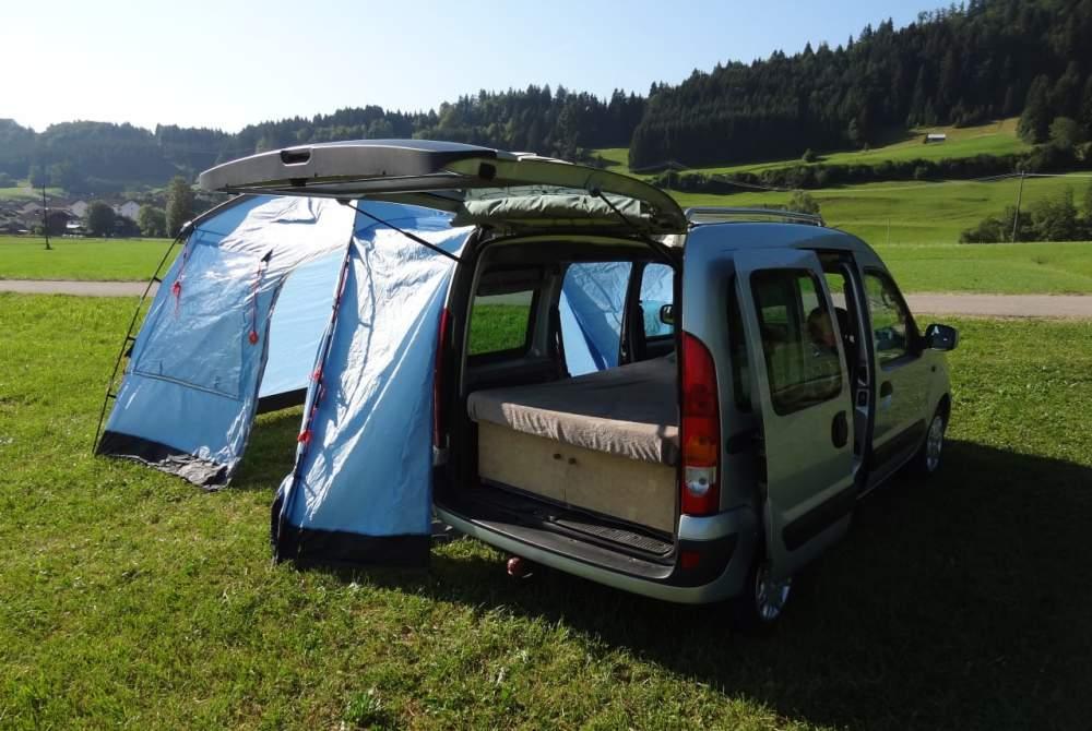 Wohnmobil mieten in Blaichach von privat | Renault allgäuKangoocamper