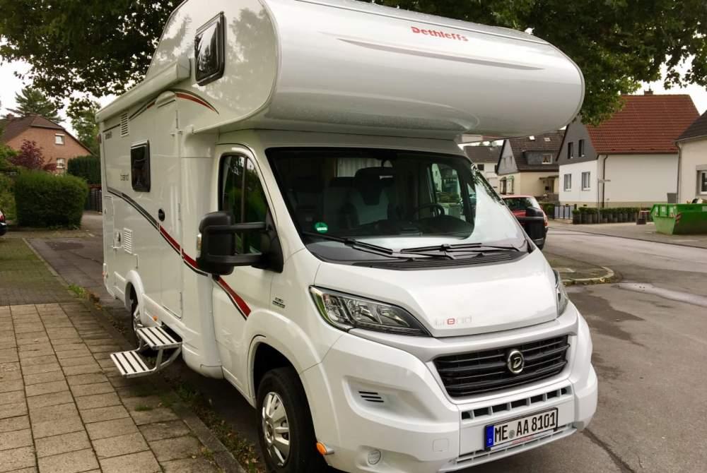 Wohnmobil mieten in Korschenbroich von privat | Dethleffs Family Comfort