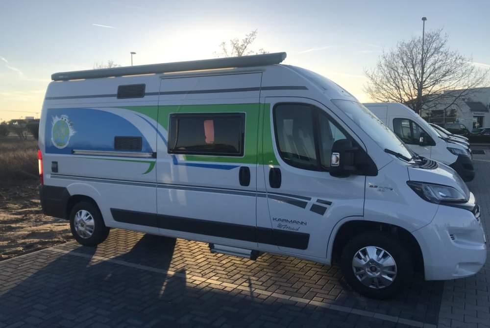 Wohnmobil mieten in Schkeuditz von privat | Karman Timon