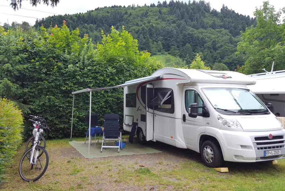 Wohnmobil mieten in Böhl-Iggelheim von privat | Bürstner Felix