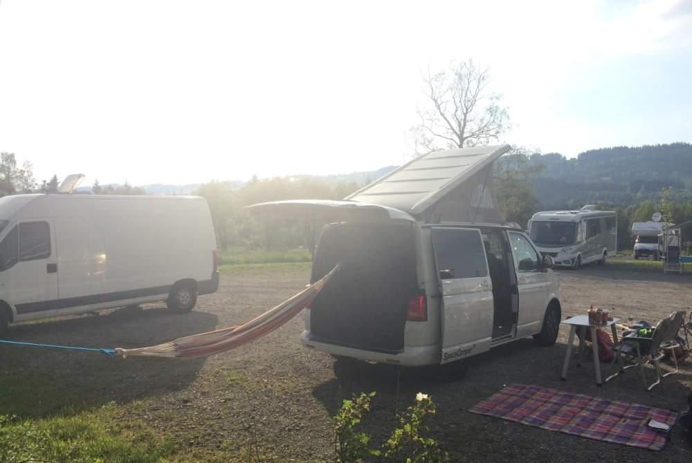 Wohnmobil mieten in Lindau (Bodensee) von privat | VW T5  Knut
