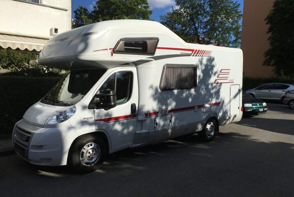 Wohnmobil mieten in München von privat | Hymer WoMoWe