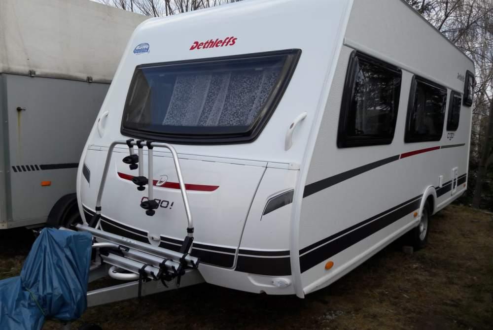 Wohnmobil mieten in Dresden von privat   Dethleffs c go  Sunny