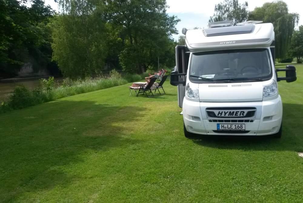 Wohnmobil mieten in Hannover von privat | Hymer WoMi