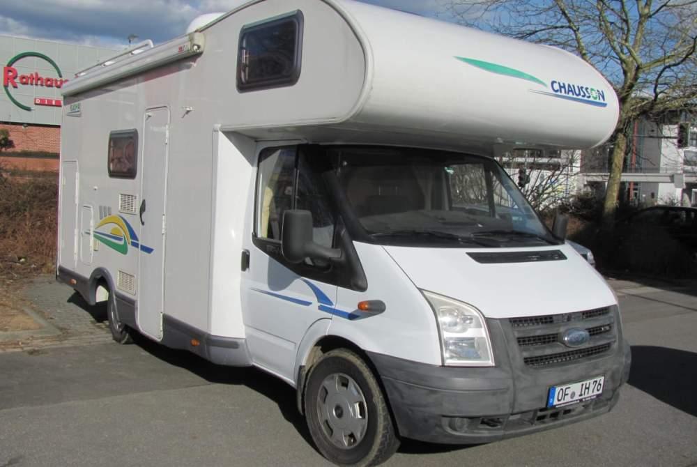 Wohnmobil mieten in Dietzenbach von privat | Chauson Flash 3 Nicolino