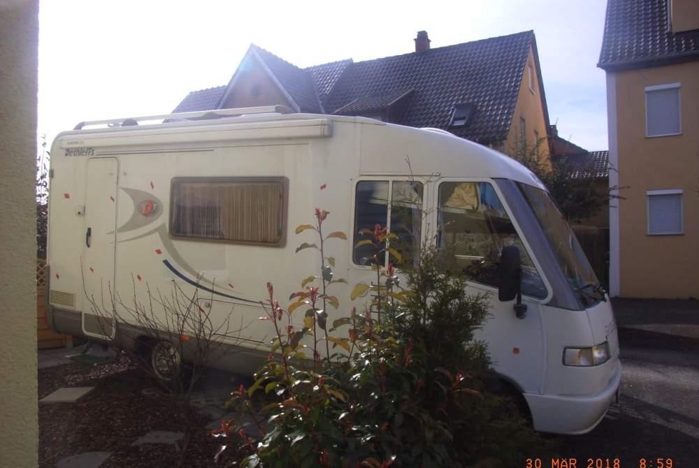 Wohnmobil mieten in Asperg von privat   Fiat Lulu Mobil
