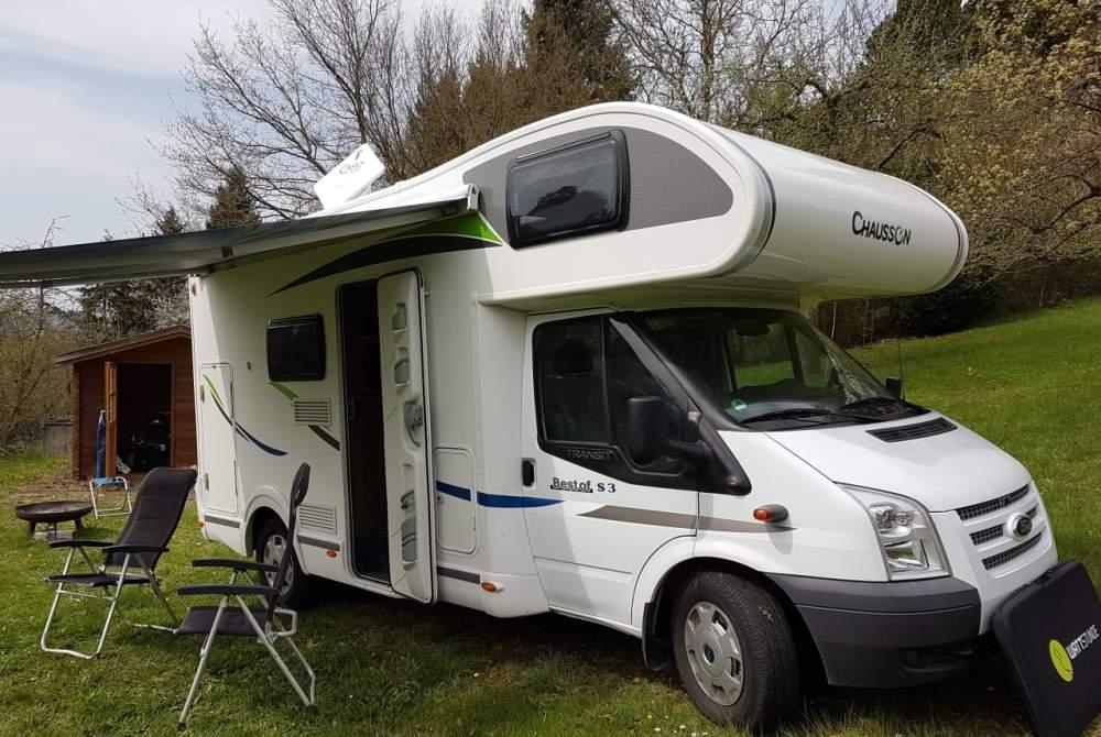Wohnmobil mieten in Heimsheim von privat | Ford Transit Kübele
