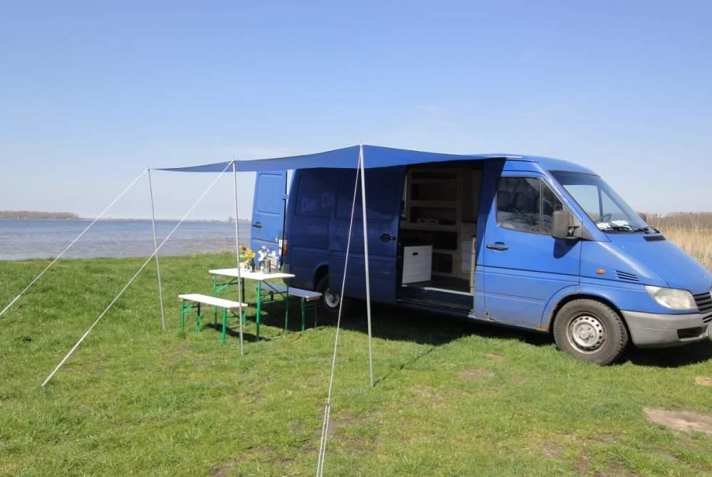 Wohnmobil mieten in Rostock von privat | Mercedes-Benz Egon
