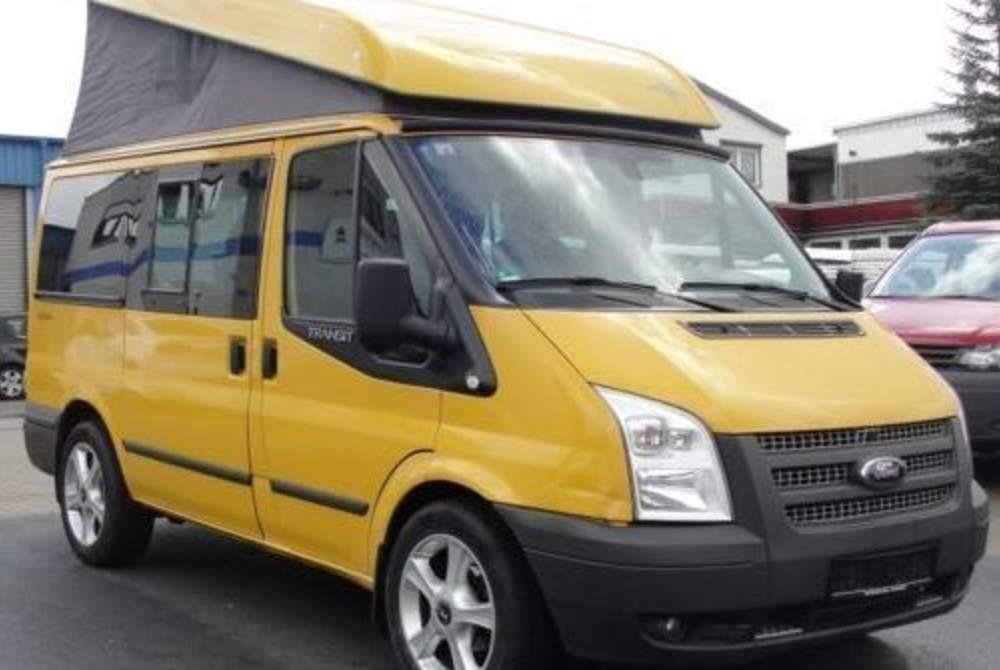Wohnmobil mieten in Steinheim an der Murr von privat   Ford Transit Westfalia Golden Nugget
