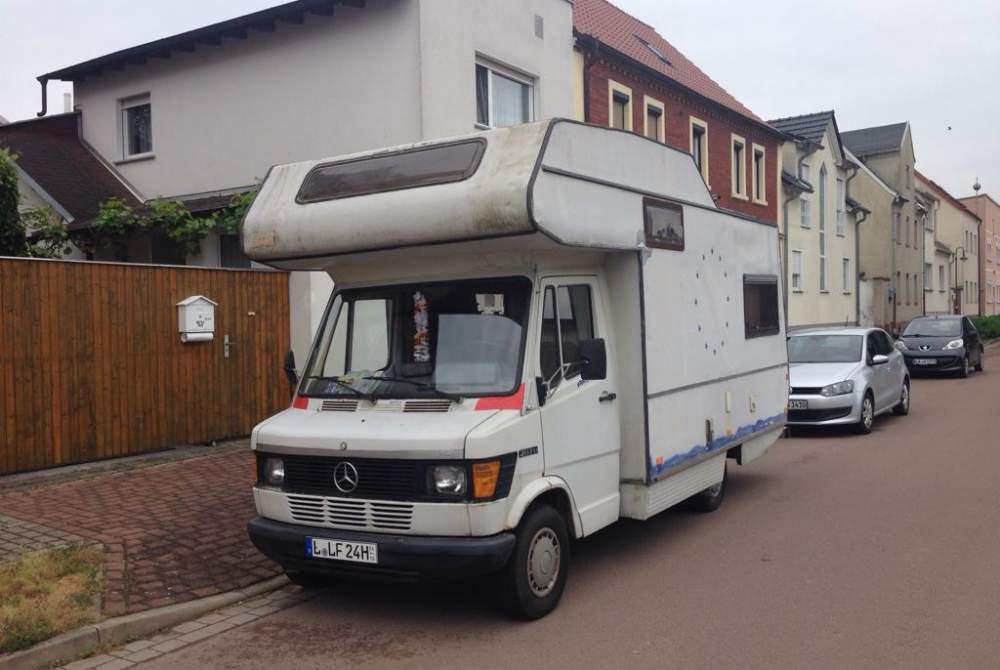 Wohnmobil mieten in Leipzig von privat | Daimler Benz Anna