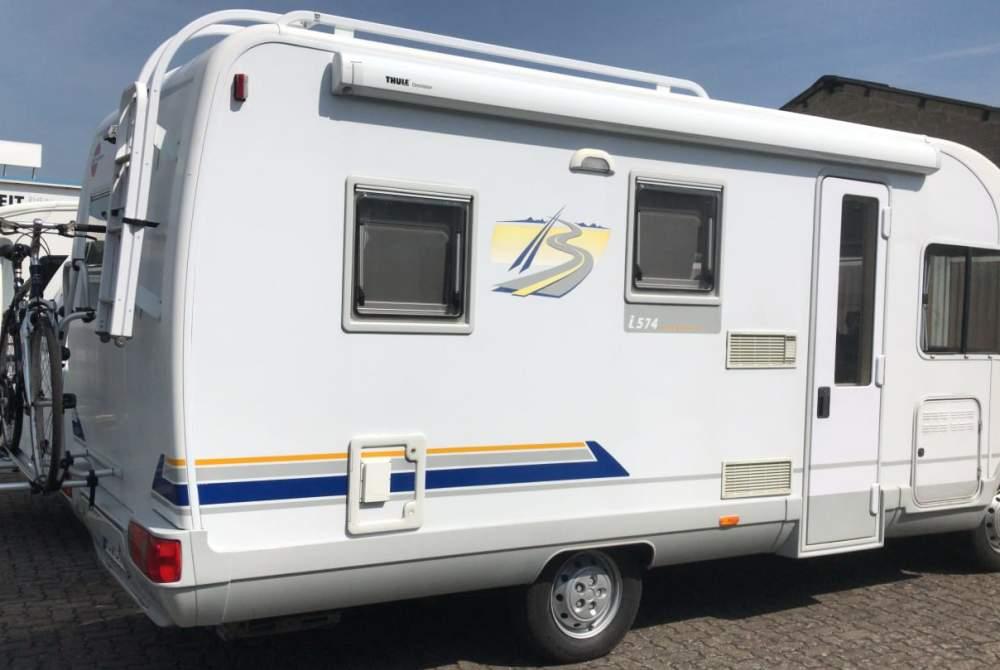 Wohnmobil mieten in Koblenz von privat | Bürstner Woni