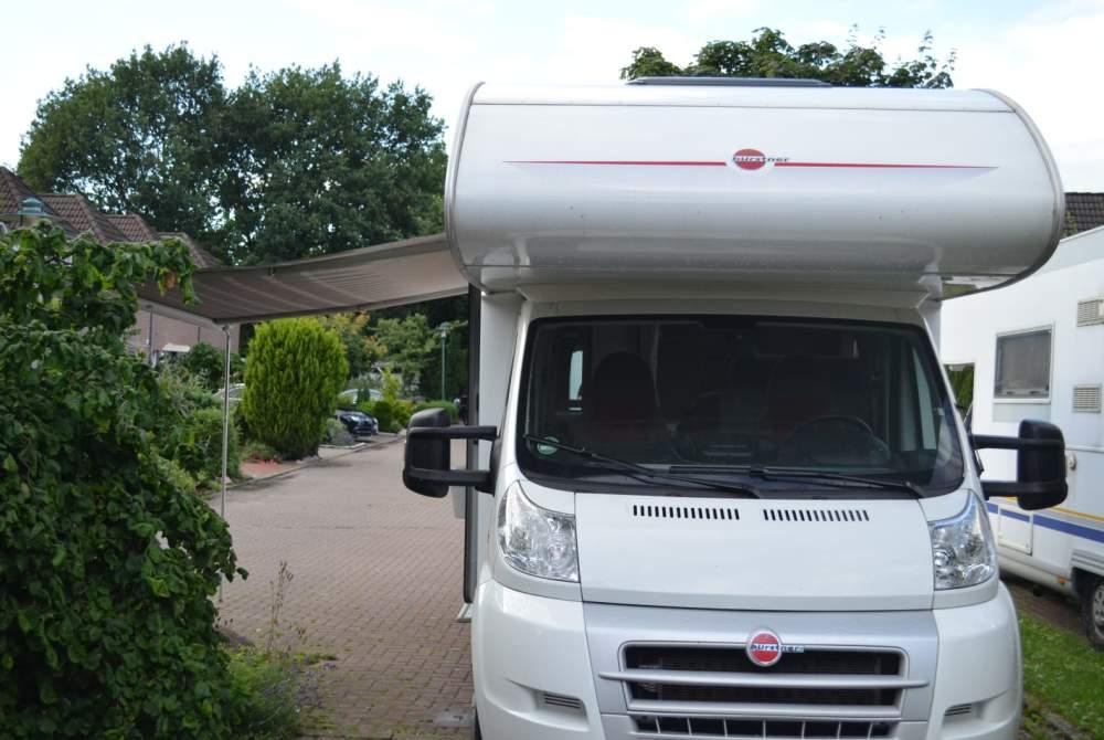 Wohnmobil mieten in Barmstedt von privat   Bürstner Elchi
