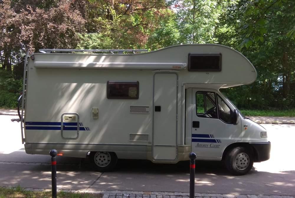 Wohnmobil mieten in Augsburg von privat | Fiat  Hallo Freedom