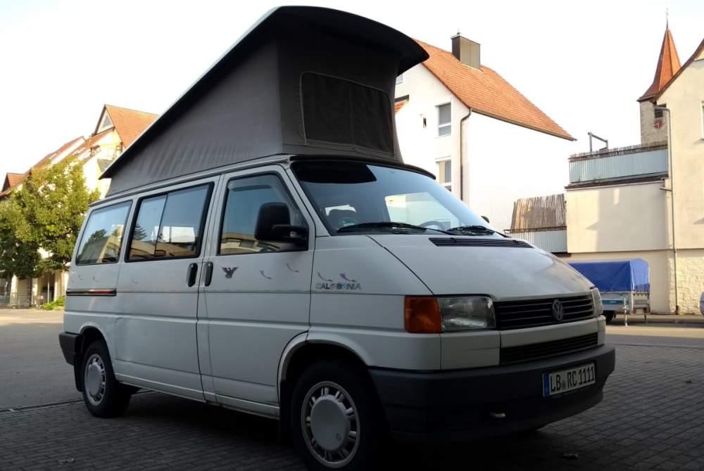 Wohnmobil mieten in Markgröningen von privat   Volkswagen BusleCalifornia