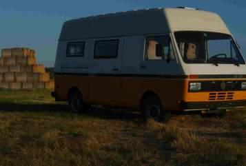 Wohnmobil mieten in Halle (Saale) von privat | Volkswagen Herz aus Gold