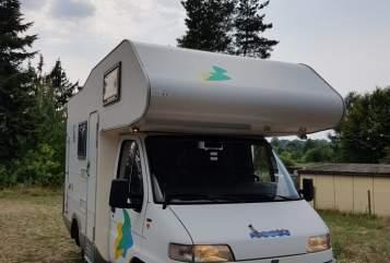 Wohnmobil mieten in Rheinsberg von privat | Fiat  Betty