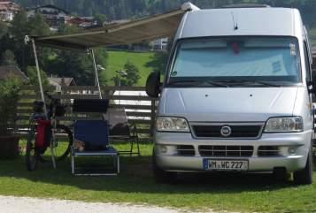 Wohnmobil mieten in Weilheim i. OB von privat | Fiat Ducato  Closette