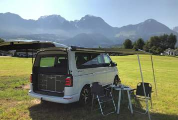 Wohnmobil mieten in Berchtesgaden von privat | VW T6 California  Alpenbulli