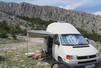 Wohnmobil mieten in Innsbruck von privat | Volkswagen  BiberMobil