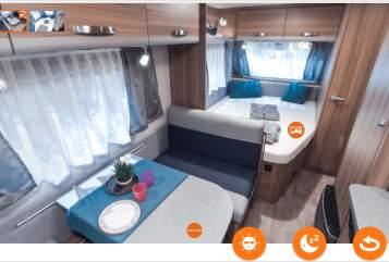 Wohnmobil mieten in Göppingen von privat | Weinsberg  Olivia
