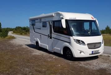 Wohnmobil mieten in Regensburg von privat | EuraMobil Haru