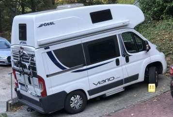 Wohnmobil mieten in Schriesheim von privat | Poessl Big White