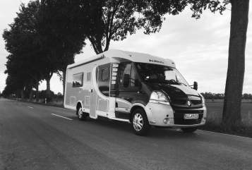 Wohnmobil mieten in Bedburg-Hau von privat | Dethleffs kehmi-MOBIL