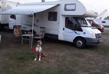 Wohnmobil mieten in Gailingen am Hochrhein von privat | Ford Mr. Grey