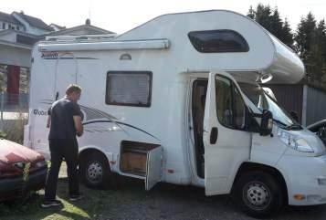 Wohnmobil mieten in Wald-Michelbach von privat | Dethleffs Globe A 583