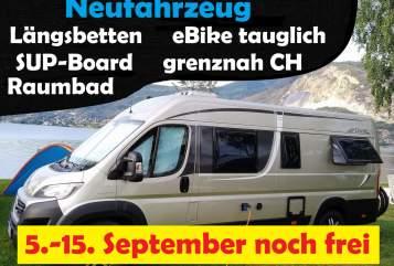 Wohnmobil mieten in Frittlingen von privat | Pössl Roadcruiser