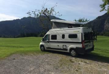 Wohnmobil mieten in München von privat   Hymer Samy