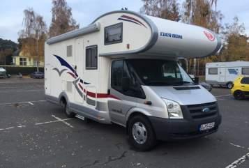 Wohnmobil mieten in Berlin von privat | Ford Transit Berlin Camper